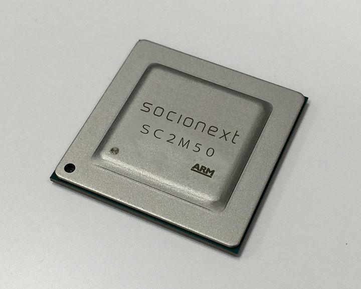 H 265(HEVC) 4K/60p Small & Low Power Codec SC2M50 | Socionext Inc